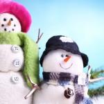 Зима_снеговики